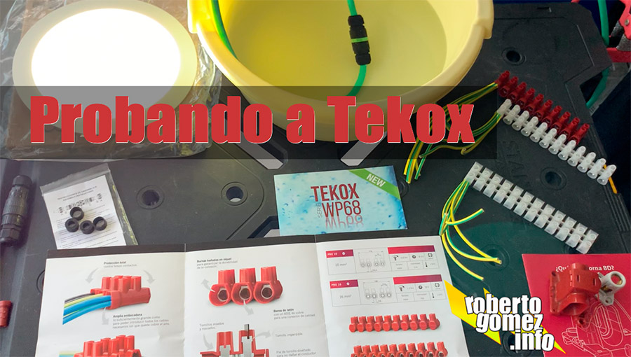 Probando a Tekox